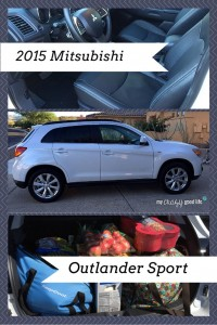 2015 Mitsubishi Outlander Sport: A parent's review