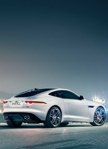 Jaguar F-Type Coupe R (2015) I must say that this is one of the most beautiful butts I've seen