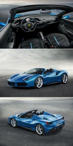 Ferrari 488 Spider – 661 horsepowers