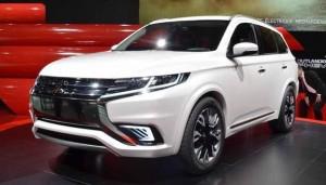 2016 Mitsubishi Outlander – exterior design