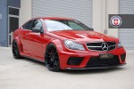 Mercedes C63 AMG Black Series on HRE Wheels