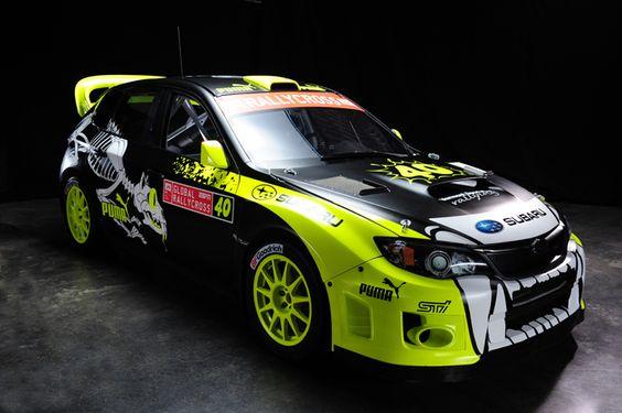 Subaru Impreza Rally Cross