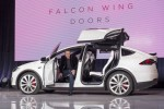 Tesla launches Model X SUV with a focus on safety