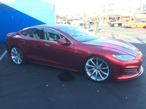 SEMA 2015 Saleen Tesla