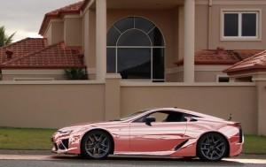 Hot pink LFA!