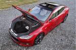 Tesla Model S P85  – Nice frunk!