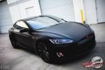 2013 Tesla model S matte black