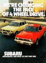 Vintage Subaru Advertisement