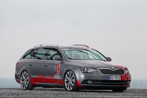 2013 Skoda Superb Combi by OK-Chiptuning