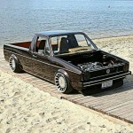 Vw volkswagen rabbit caddy pickup