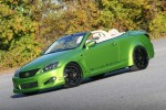 Green Lexus IS 350 AWD