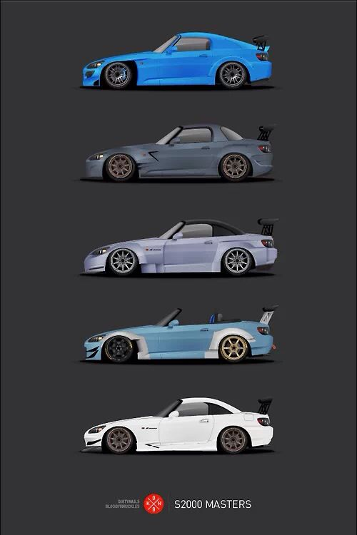 Honda s2000 masters for Garage ford nanterre