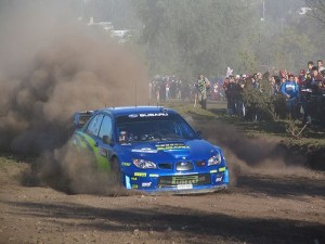 Petter Solberg Subaru WRC Rally
