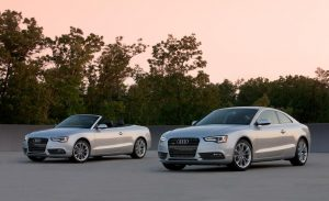 Audi A5 2.0T Quattro cabriolet and coupe
