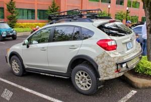 Primitive Desert Edition Subaru XV Crosstrek