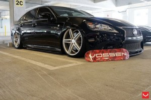 Nurotag All Stars 2013 &#8211; Our good friend Mr. Wheels&#8217; and his bagged Lexus GS. Accuair and Vossen CV5 equipped. Also showing off his new Red Camo Skate Deck. Available on <a href=\