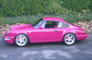 964 rubystone red