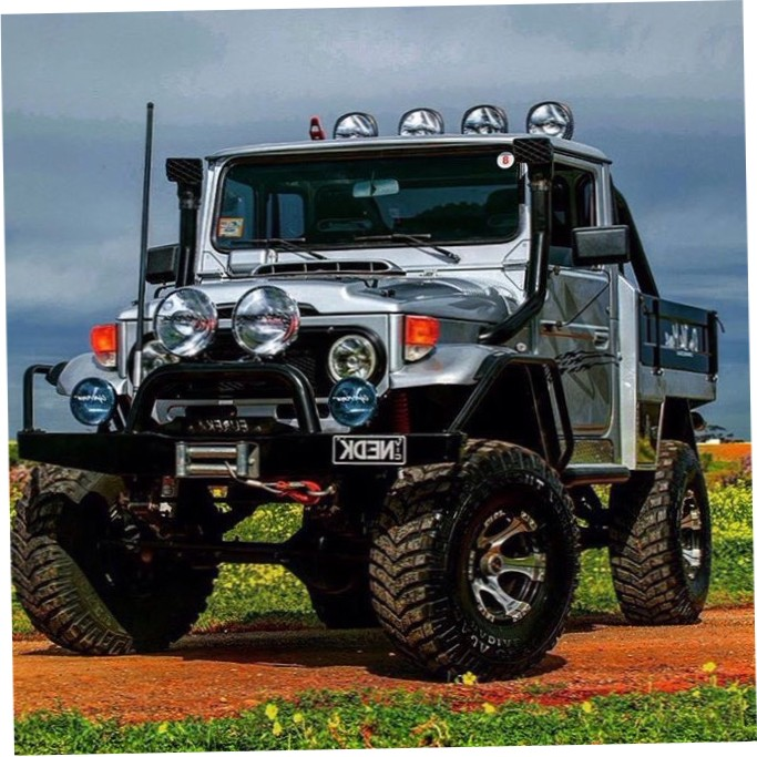 Fj Cruiser Sticker >> Awesome Looking 45 Series Toyota Land Cruiser Offroad 4x4 Rig