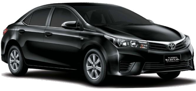 Toyota Corolla Altis Car 2016 Model Specs