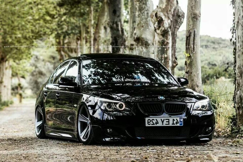 BMW E60 5 series black w. Sternspeiche 128 20
