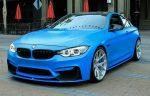 2016 BMW M4 Coupe. Loving the colour, and the wheels