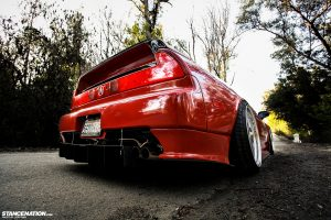 Flush Stanced Acura Honda NSX