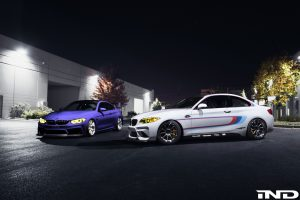 IND Turns Up The Heat For SEMA With Custom M2 And M4 Duo