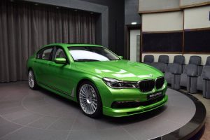 New Alpina B7 Dipped In Java Green Metallic Is…Umm…Different [62 Pics]