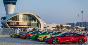 BMW Abu Dhabi Shows Off Its Exclusive Colors With Six i8s